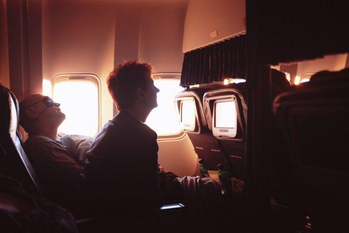 volare bene su un volo lungo